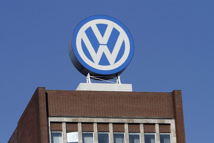 In this Feb. 24, 2011 file photo the Volkswagen logo is photographed at the companys headquarters at the Volkswagen plant in Wolfsburg, Germany.