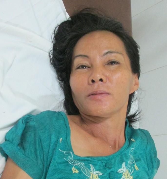 Bị can Nguyễn Thị Vân vẫn đang được bác sĩ chăm sóc