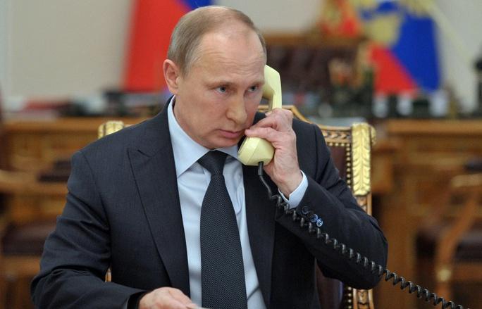 Tổng thống Putin thoại đàm cùng lãnh đạo Đức, Ukraine. Ảnh: TASS