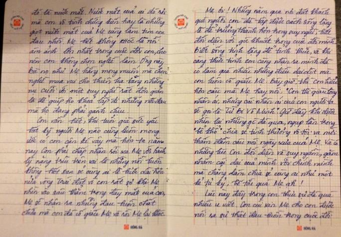 Xúc động thư gửi mẹ của nghệ sĩ hài Thúy Nga