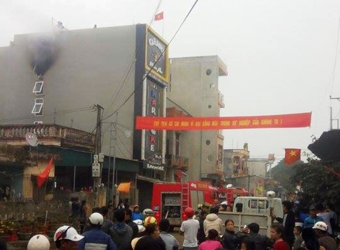 Vụ cháy đã khiến cả khu phố được 1 phen hoảng loạn