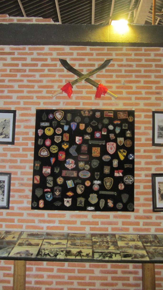 Phù hiệu của binh lính các nước.