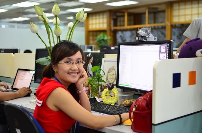 Nhân lực trẻ ngày càng khẳng định năng lực trong nhiều dự án lớn Ảnh: FPT Software