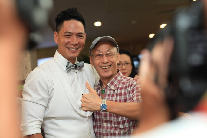 Bình Minh tại họp báo ra mắt phim