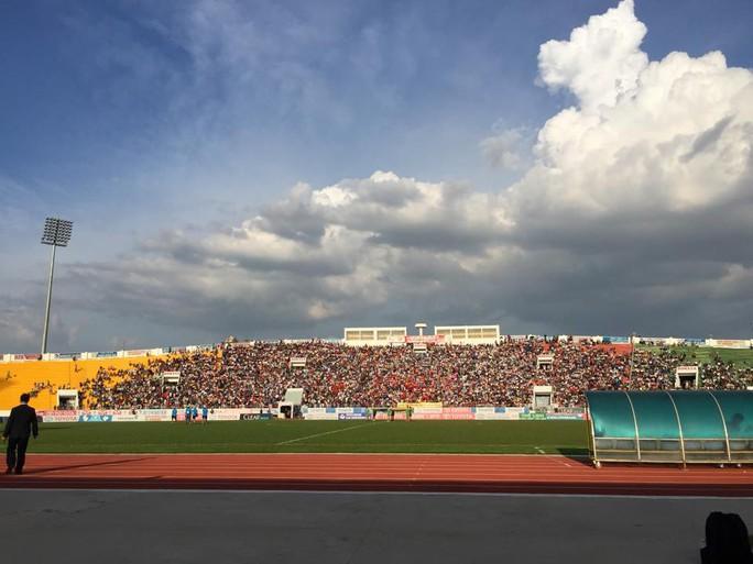 Sân Đồng Nai trước giờ thi đấu