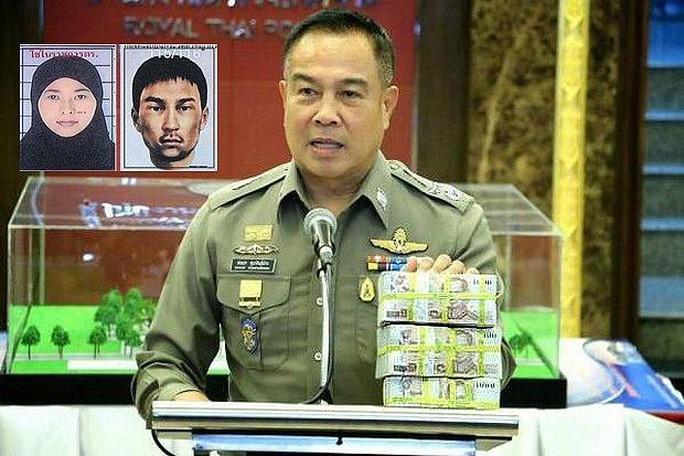Cảnh sát Thái Lan nhờ Campuchia hỗ trợ bắt nghi phạm. Ảnh: Bangkok Post