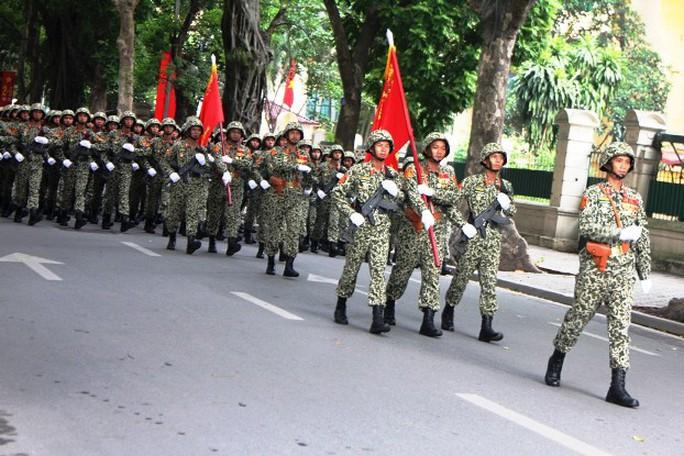 Tổng duyệt Lễ diễu binh mừng Quốc khánh 2-9