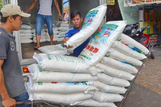 Thực phẩm Trung Quốc về chợ Bình Tây (TP HCM)Ảnh: TẤN THẠNH