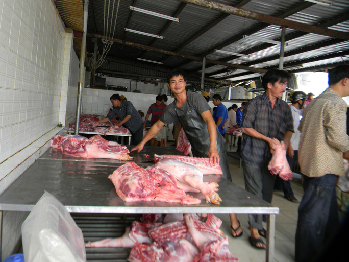 Giá thành heo Việt Nam đắt hơn ở Mỹ 25%-30%