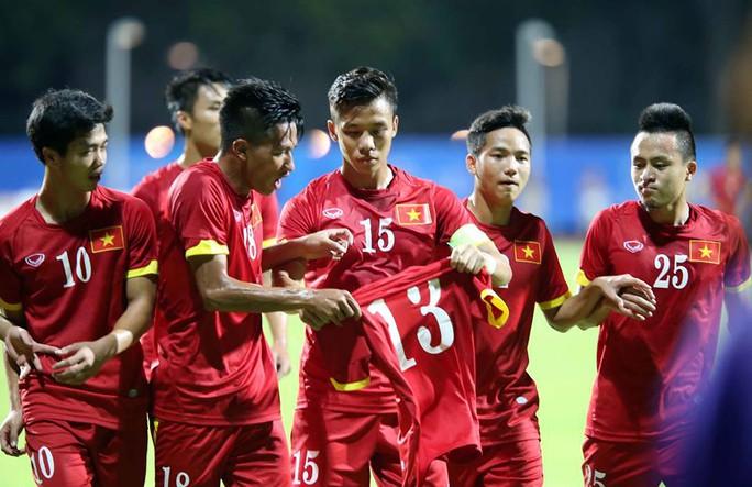 Một hành động đẹp của các cầu thủ U23 Việt Nam