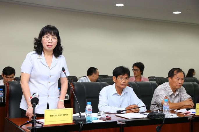Bà Nguyễn Thị Tuyết Mai, Chánh Thanh tra tỉnh Bình Dương, công bố kết luận thanh tra