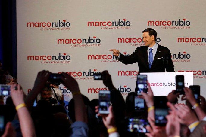 Thượng Nghị Sĩ Marco Rubio bang Florida. Ảnh: Reuters