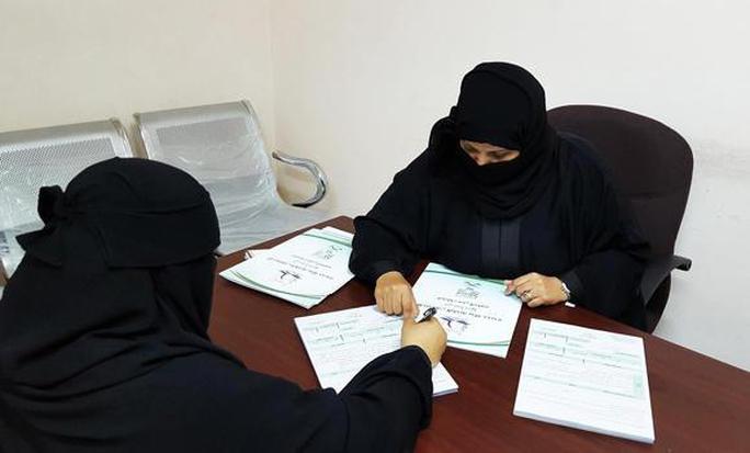 Phụ nữ Ả Rập Saudi sắp được tham gia bầu cử địa phương lần đầu tiên                                                       Ảnh: SPA