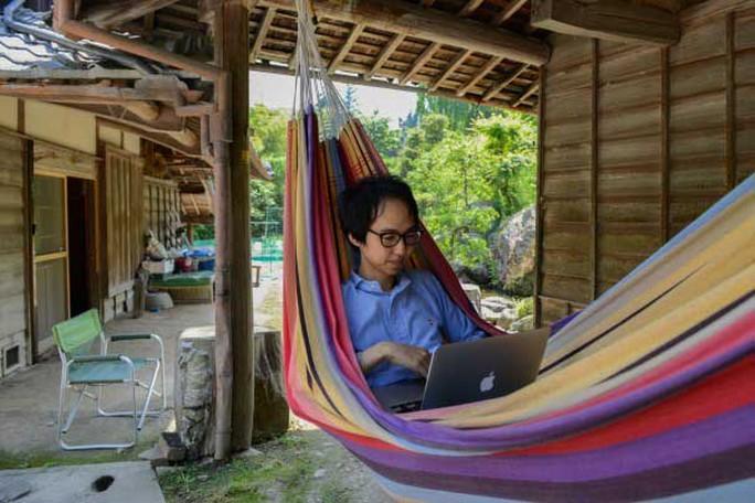 Làng Kamiyama đang thu hút những người trẻ, sáng tạo và các công ty công nghệ thông tin do cảnh quang đẹp đẽ  Ảnh: THE WASHINGTON POST
