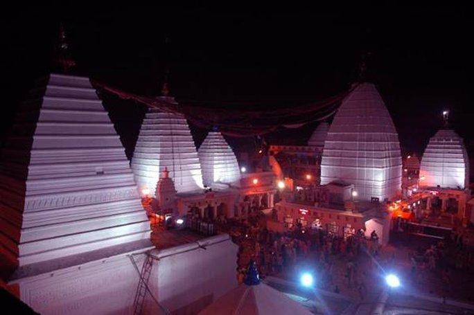 Ngôi đền Baidyanath ở Deoghar. Ảnh: NBC