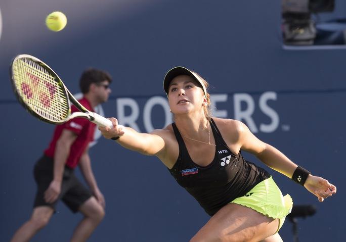 Chưa tay vợt trẻ nào chơi ấn tượng trong một giải đấu như Bencic làm được ở Rogers Cup 2015 Ảnh: REUTERS