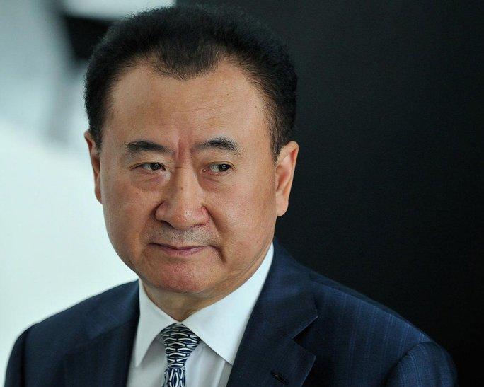 Tỉ phú Vương Kiến Lâm  Ảnh: CHINA FOTO PRESS