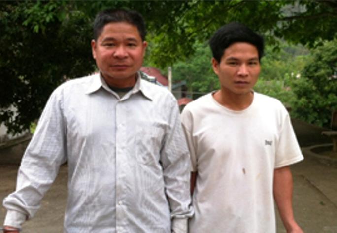Hai trâu tặc chuyên dùng ô tô để vận chuyển tải sản trộm cắp bị công an bắt giữ