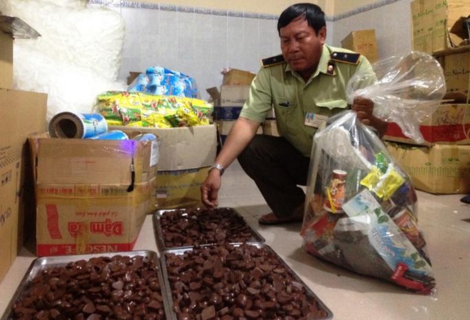 Công ty TNHH TM Ngọc Long sản xuất chocolate không có giấy chứng nhận đảm bảo điều kiện vệ sinh thực phẩm.