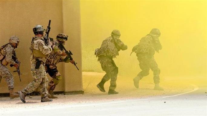 Lực lượng đặc biệt Mỹ tại Jordan. Ảnh: Press TV