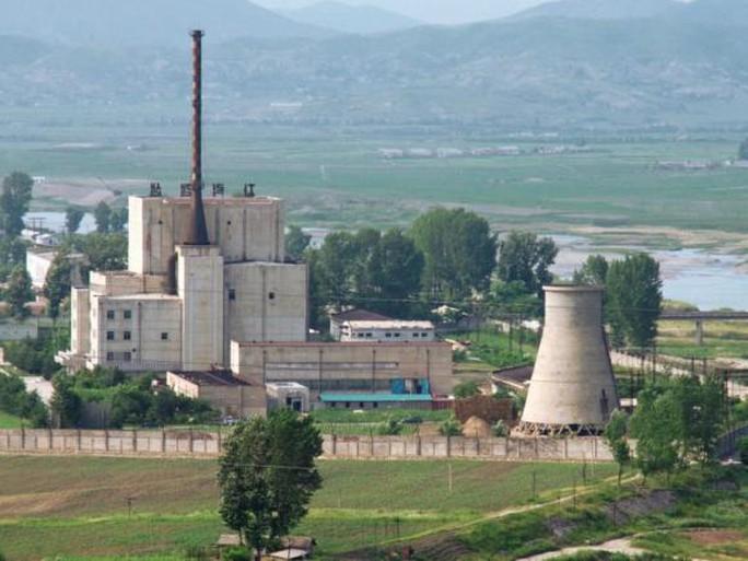 Một lò phản ứng trong khu phức hợp hạt nhân Yongbyon của Triều Tiên. Ảnh: Kyodo News
