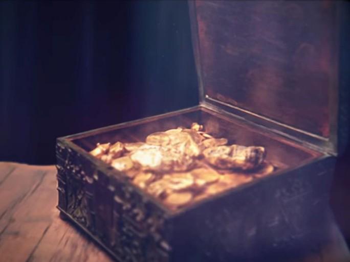 Chiếc hộp ông Fenn giấu được cho là tương tự chiếc hộp trong hình. Ảnh: Youtube