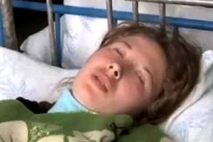 Một người phụ nữ đang ngủ li bì. Ảnh: Siberian Times