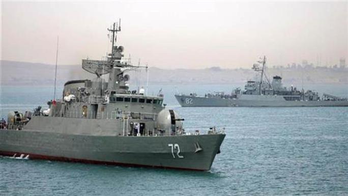 Tàu khu trục Alborz của Iran. Ảnh: Press TV