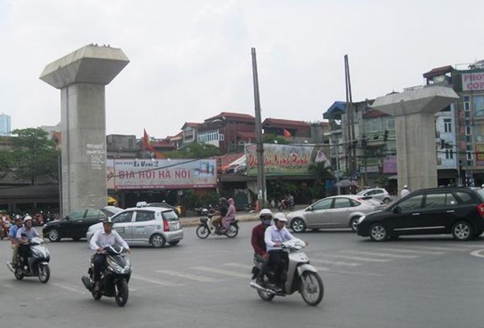 Khu vực dân cư sắp giải phóng mặt bằng để làm tuyến đường Hoàng Cầu đến nút giao Láng Hạ - Giảng Võ