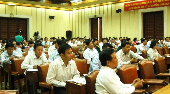 Toàn cảnh Hội nghị lấy ý kiến nhân dân đối với dự thảo Bộ Luật hình sự sửa đổi