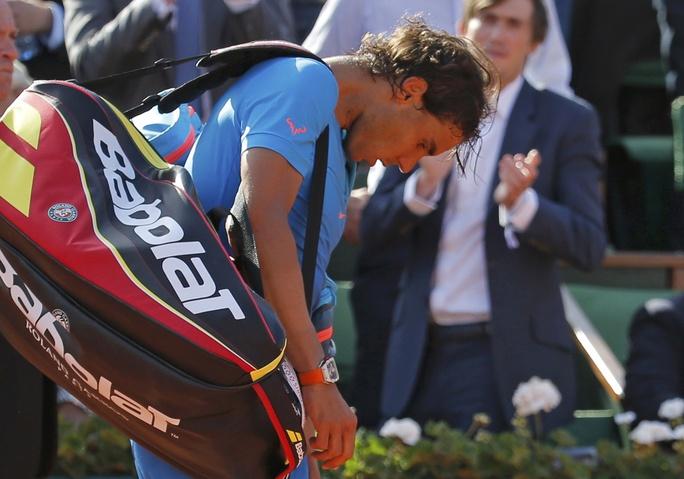 Thất bại 3 ván trắng cho thấy Nadal đang thật sự sa sút