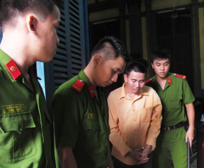 Bị cáo Lê Văn Chi sau phiên xử phúc thẩm