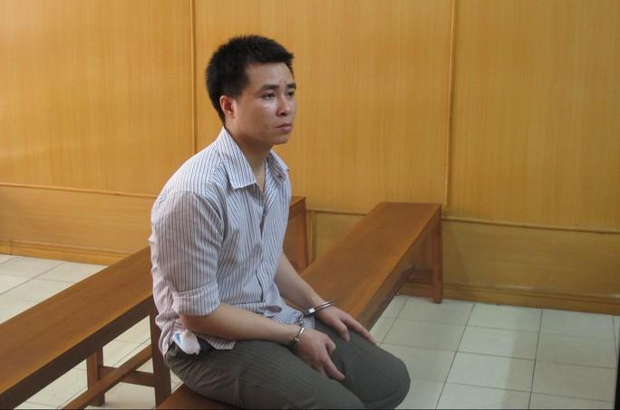 Bị cáo Đoàn Văn Toàn tại phiên xử phúc thẩm sáng 24-4