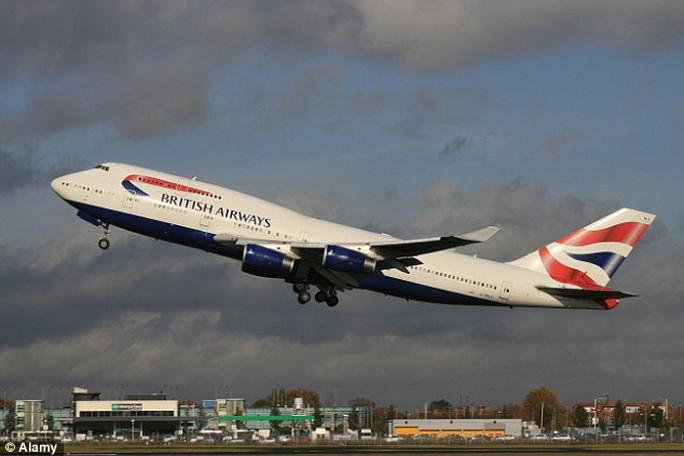 Máy bay của hãng British Airways