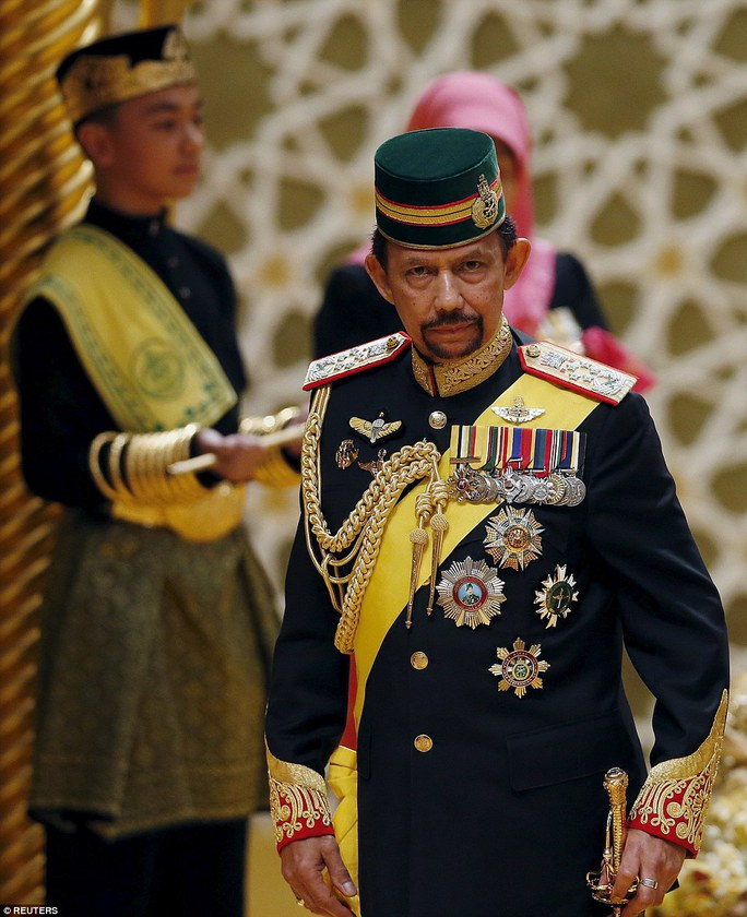 Quốc Vương Hassanal Bolkiah. Ảnh: Reuters
