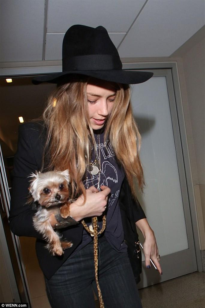 """Vợ chồng Johnny Depp bay khẩn khỏi Úc để """"cứu"""" chó cưng"""