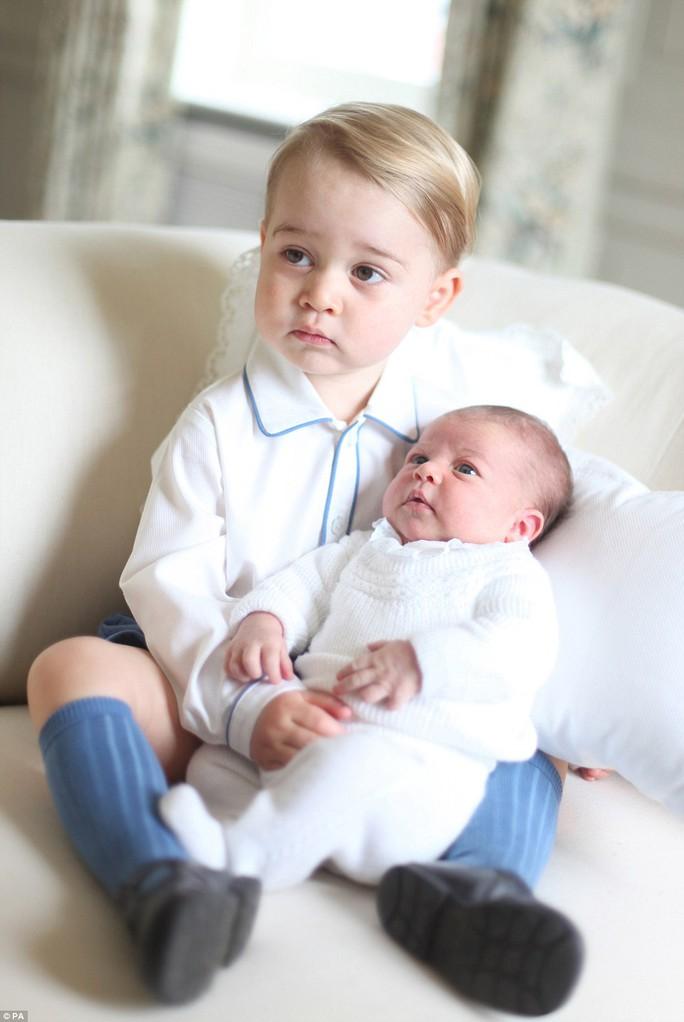 Hoàng tử và công chúa nhỏ của hoàng gia Anh