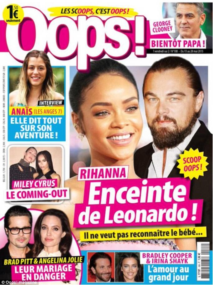 Leonardo DiCaprio vô cùng tức giận khi thấy bài báo trên