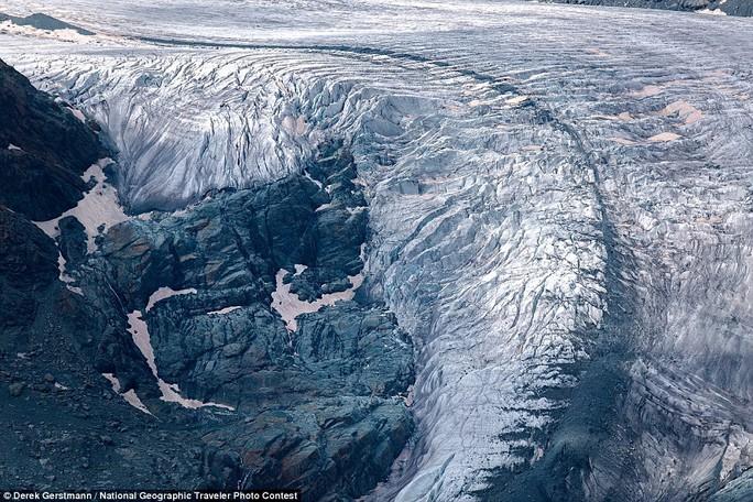 Dòng sông băng Gorner