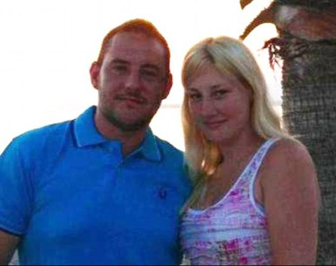 Matthew James và Sarea Wilson. Ảnh: Daily Mail