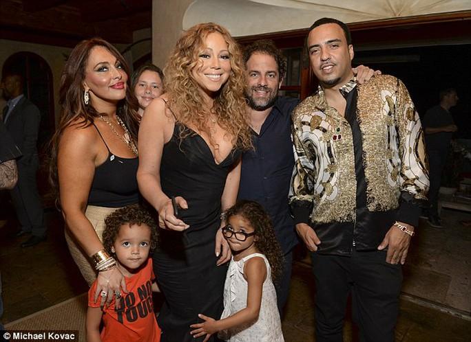 Mariah tổ chức tiệc trước lễ nhận sao