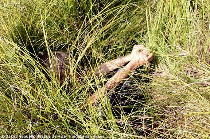 Nơi Karina được tìm thấy trong rừng. Ảnh: Siberian Times