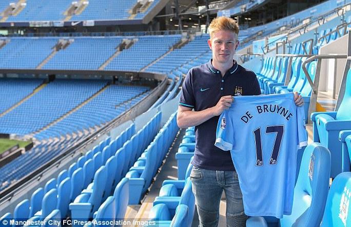De Bruyne ra mắt Man City