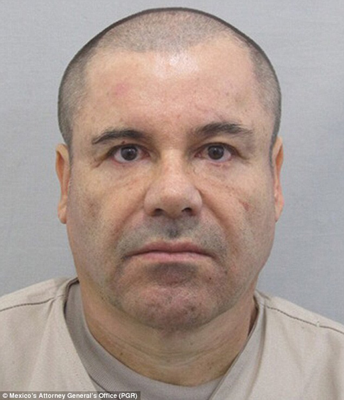 Joaquin El Chapo Guzman. Ảnh: PGR