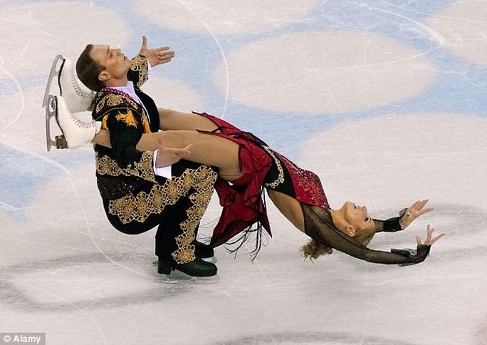 Bà Navka từng vô địch Olympic năm 2006. Ảnh: