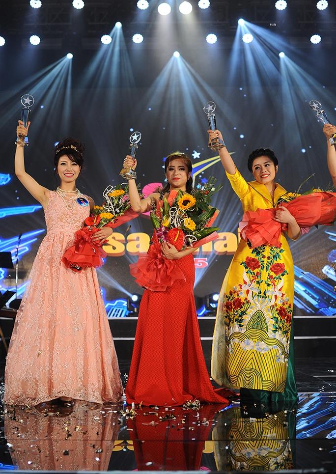 ba giọng ca nữ thống trị sao mai 2015 - Bảo Yến, Hồng Ngọc, Thu Hằng
