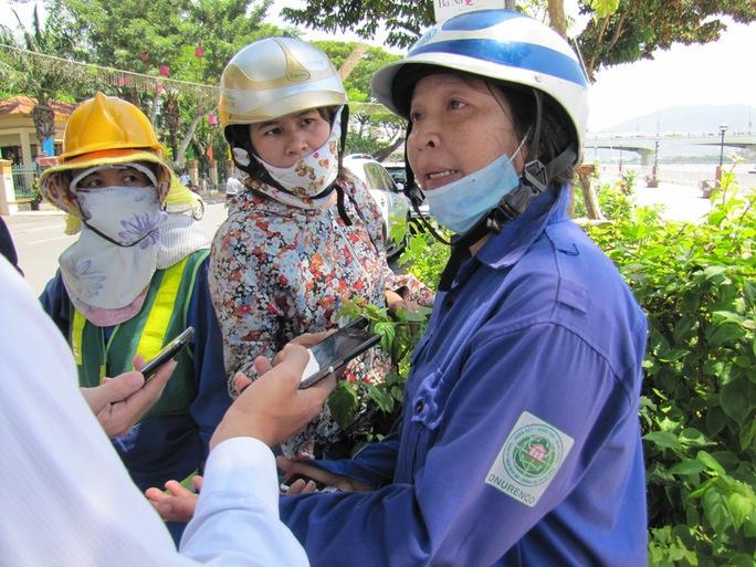 Bị chèn ép, công nhân môi trường cầu cứu Thành ủy Đà Nẵng