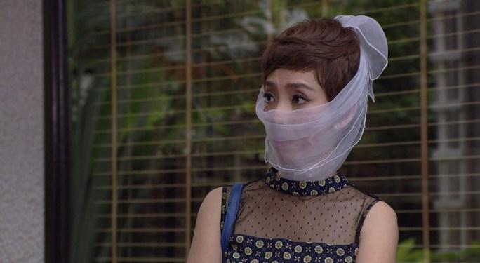 Thu Trang trong phim Làm dâu