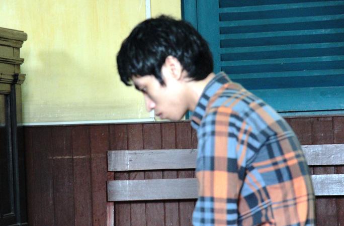 Bị cáo Hà Minh Biên tại tòa
