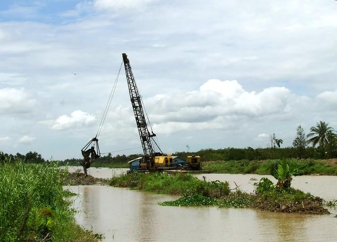 Gói thầu số 5, công trình nạo vét thượng nguồn sông Ba Lai trì trệ,  để xảy ra nhiều sai phạm về tài chính